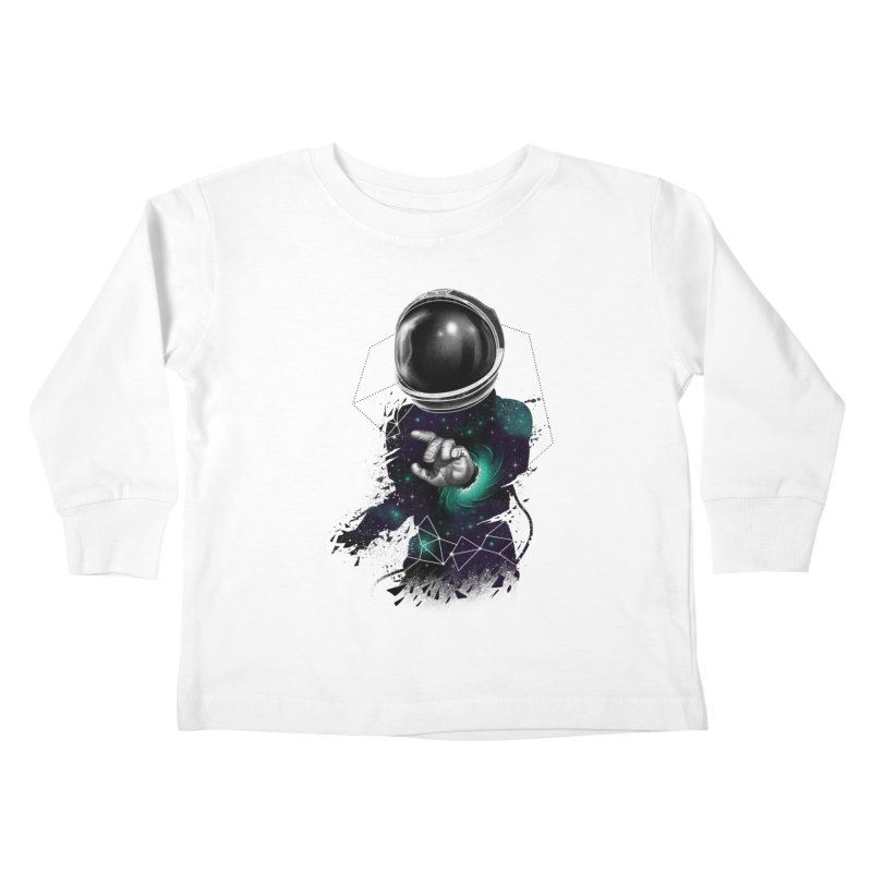 Space Warp Kids Toddler Longsleeve T-Shirt by vincenttrinidad's Artist Shop