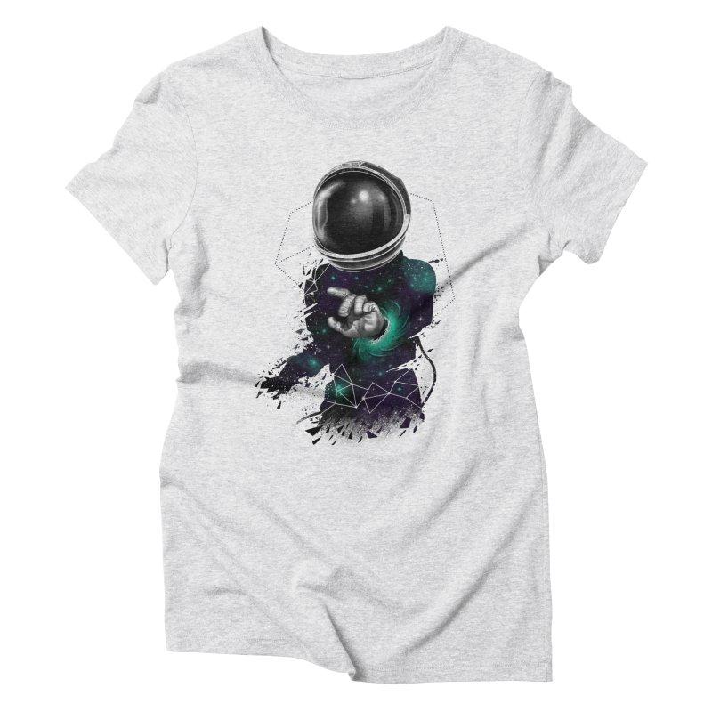Space Warp Women's Triblend T-Shirt by vincenttrinidad's Artist Shop