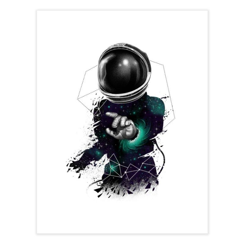 Space Warp Home Fine Art Print by vincenttrinidad's Artist Shop