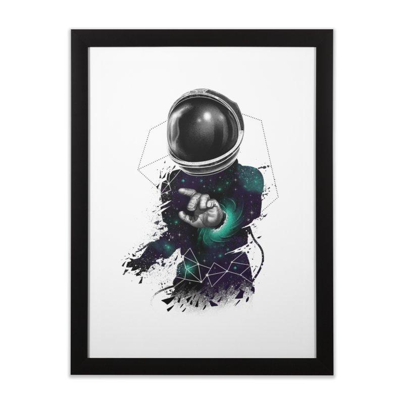 Space Warp Home Framed Fine Art Print by vincenttrinidad's Artist Shop