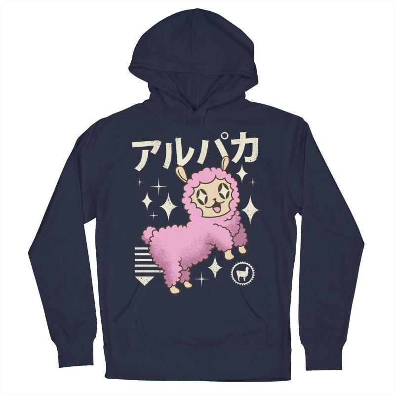 Kawaii Alpaca Men's Pullover Hoody by vincenttrinidad's Artist Shop