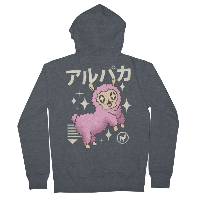 Kawaii Alpaca Women's Zip-Up Hoody by vincenttrinidad's Artist Shop