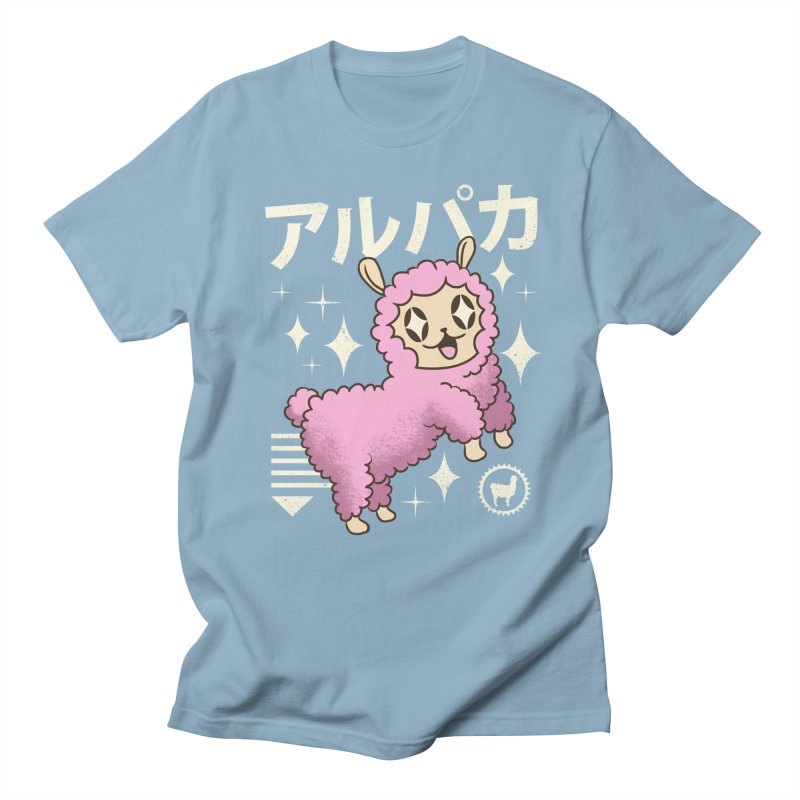 Kawaii Alpaca Men's T-Shirt by vincenttrinidad's Artist Shop