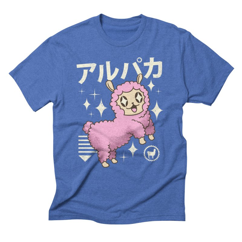 Kawaii Alpaca Men's Triblend T-Shirt by vincenttrinidad's Artist Shop