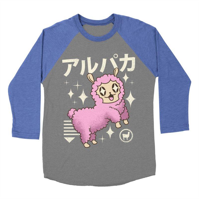 Kawaii Alpaca Women's Baseball Triblend T-Shirt by vincenttrinidad's Artist Shop