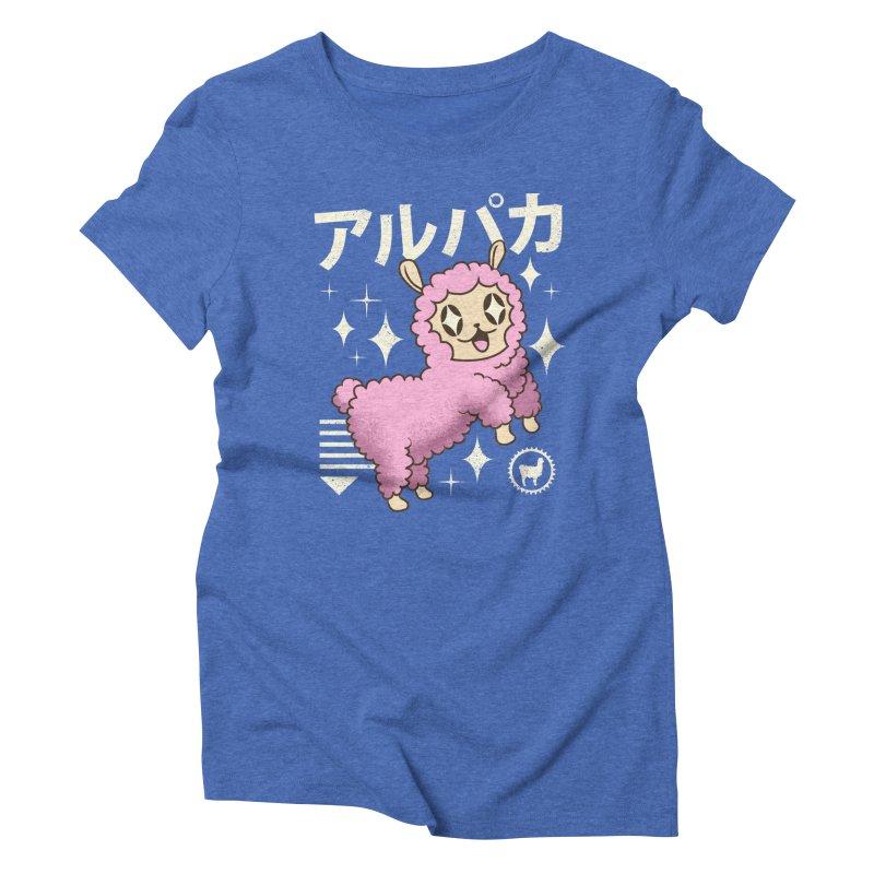 Kawaii Alpaca Women's Triblend T-Shirt by vincenttrinidad's Artist Shop