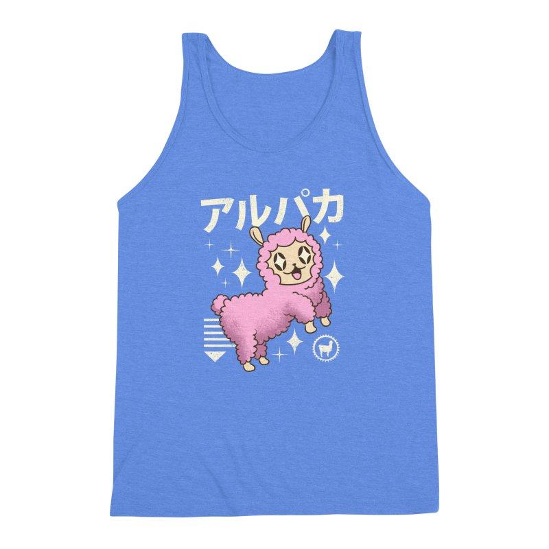 Kawaii Alpaca Men's Triblend Tank by vincenttrinidad's Artist Shop