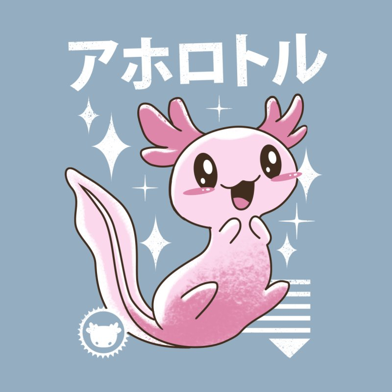 Kawaii Axolotl Men's V-Neck by Vincent Trinidad Art