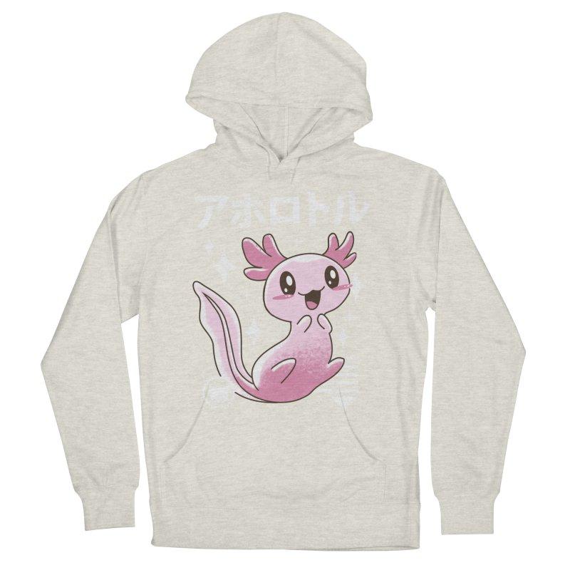 Kawaii Axolotl Men's Pullover Hoody by vincenttrinidad's Artist Shop