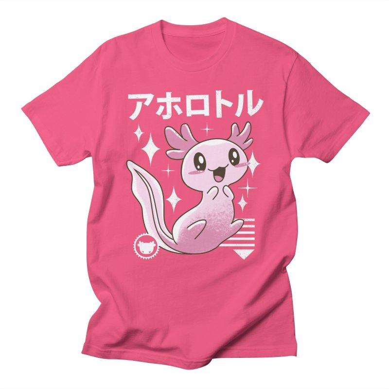 Kawaii Axolotl Women's Unisex T-Shirt by vincenttrinidad's Artist Shop