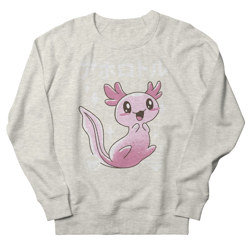 Kawaii Axolotl Men's Sweatshirt by vincenttrinidad's Artist Shop