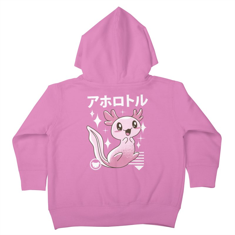 Kawaii Axolotl Kids Toddler Zip-Up Hoody by vincenttrinidad's Artist Shop