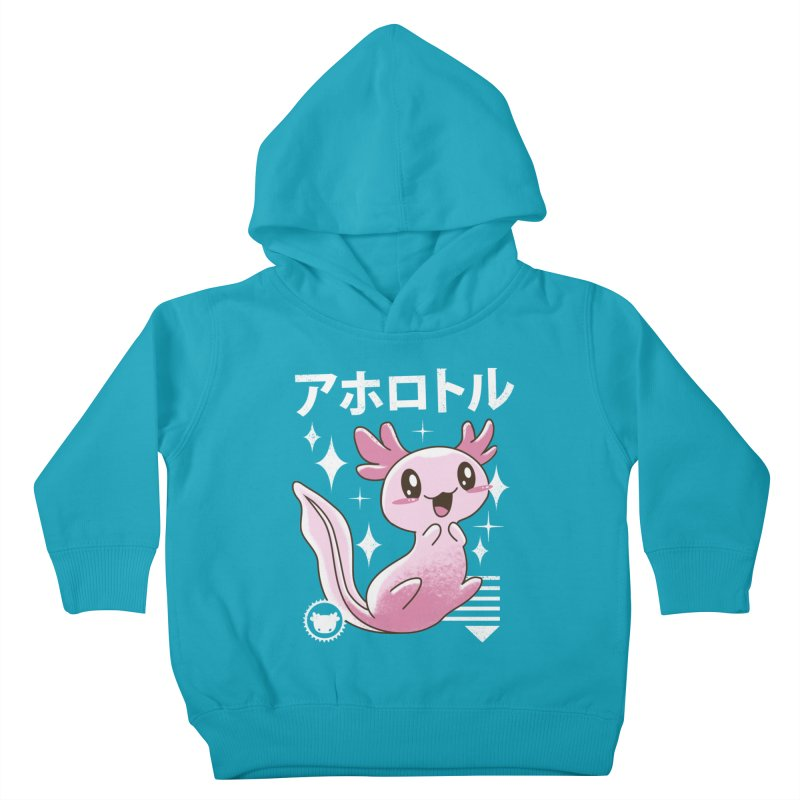 Kawaii Axolotl Kids Toddler Pullover Hoody by vincenttrinidad's Artist Shop