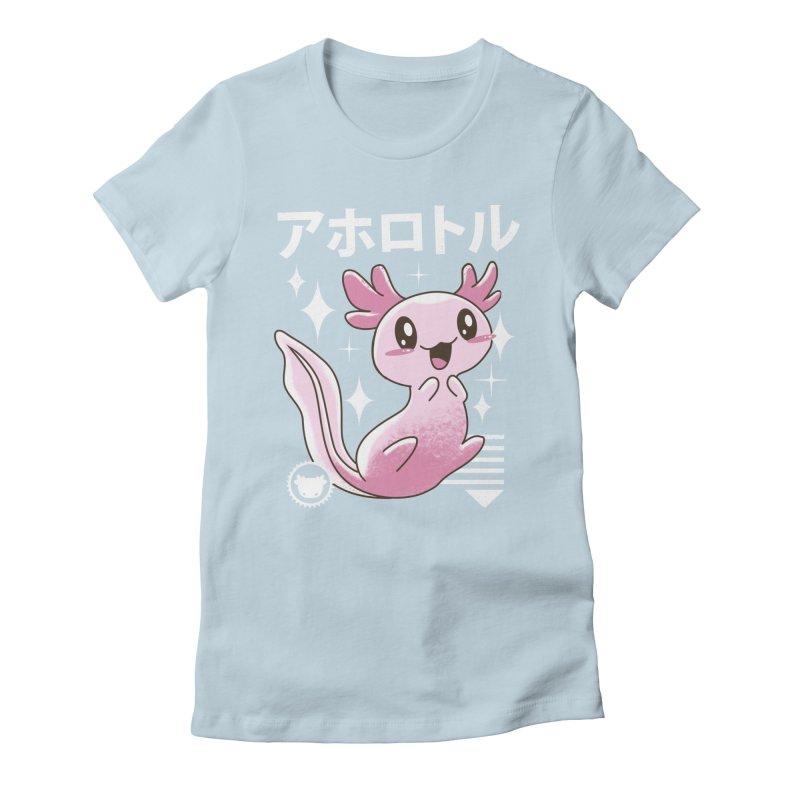 Kawaii Axolotl Women's T-Shirt by vincenttrinidad's Artist Shop
