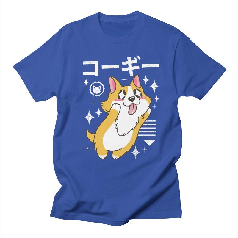 Kawaii Corgi Men's T-Shirt by vincenttrinidad's Artist Shop