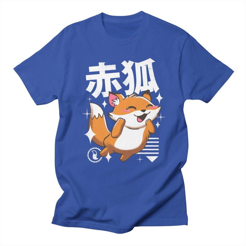 Kawaii Fox Men's T-Shirt by vincenttrinidad's Artist Shop