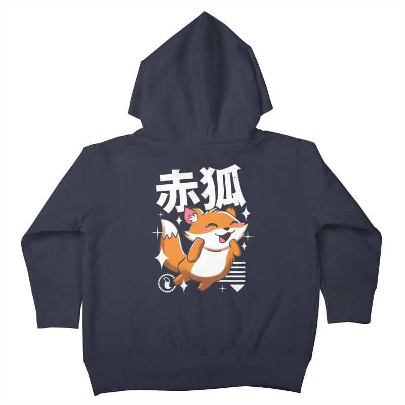 Kawaii Fox Kids Toddler Zip-Up Hoody by vincenttrinidad's Artist Shop