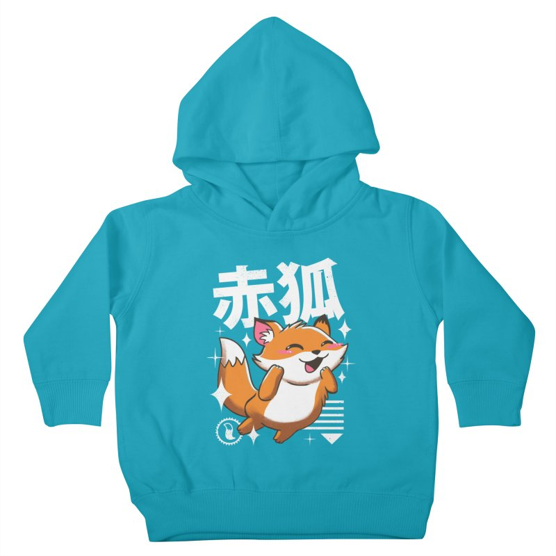 Kawaii Fox Kids Toddler Pullover Hoody by vincenttrinidad's Artist Shop
