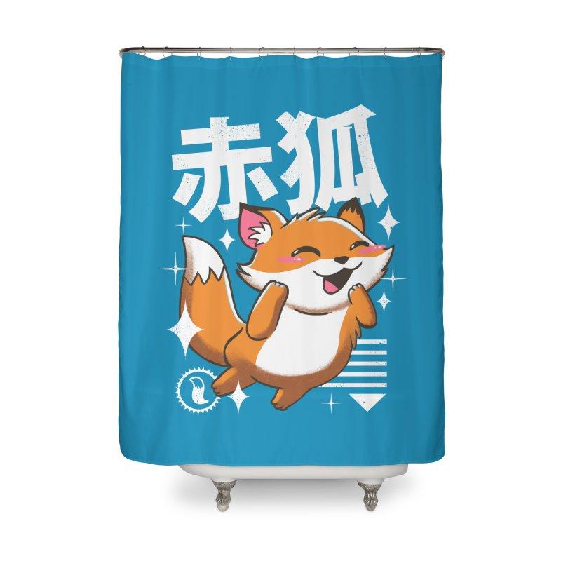 Kawaii Fox Home Shower Curtain by vincenttrinidad's Artist Shop