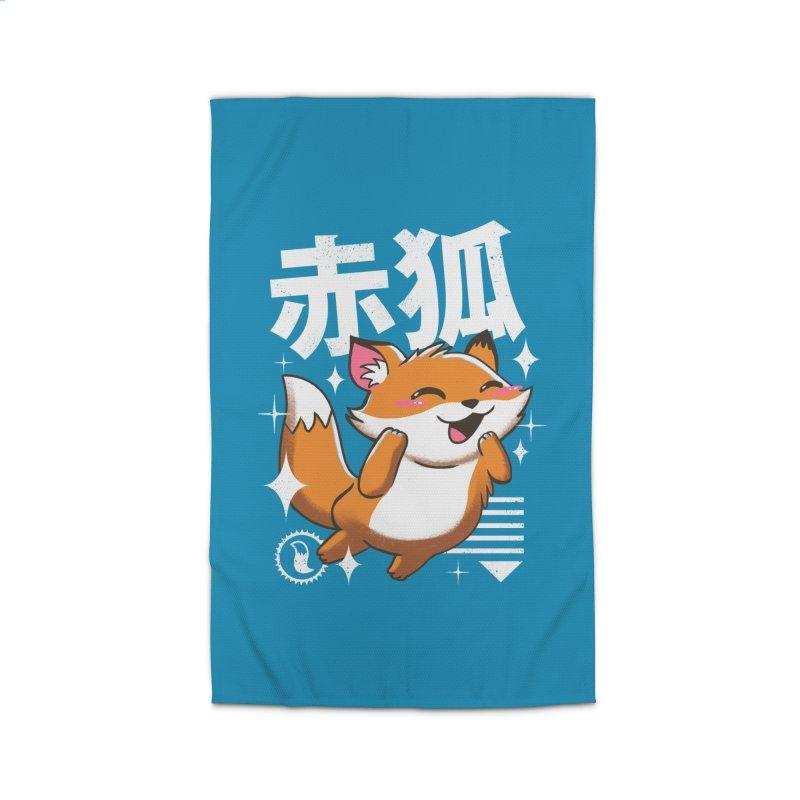 Kawaii Fox Home Rug by vincenttrinidad's Artist Shop