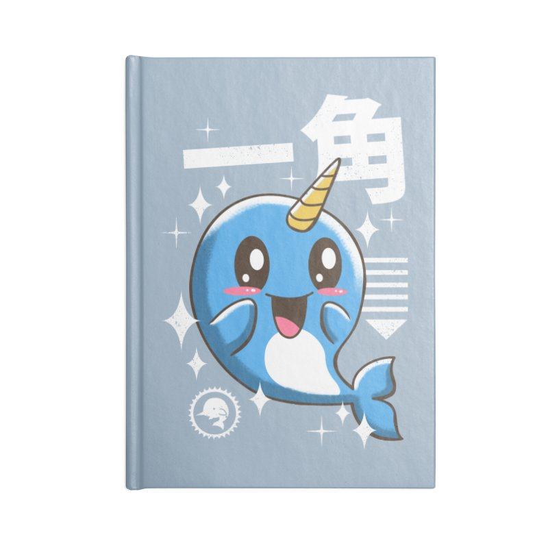 Kawaii Narwhal Accessories Notebook by vincenttrinidad's Artist Shop