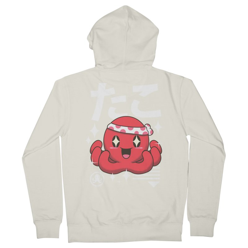 Kawaii Octopus Women's Zip-Up Hoody by vincenttrinidad's Artist Shop