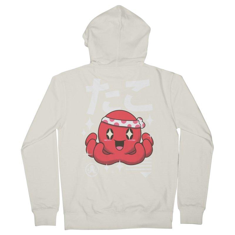 Kawaii Octopus Men's Zip-Up Hoody by vincenttrinidad's Artist Shop