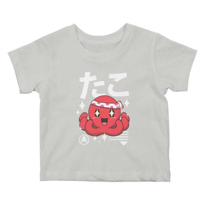Kawaii Octopus Kids Baby T-Shirt by vincenttrinidad's Artist Shop