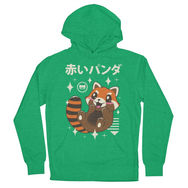 Kawaii Red Panda Men's Pullover Hoody by vincenttrinidad's Artist Shop