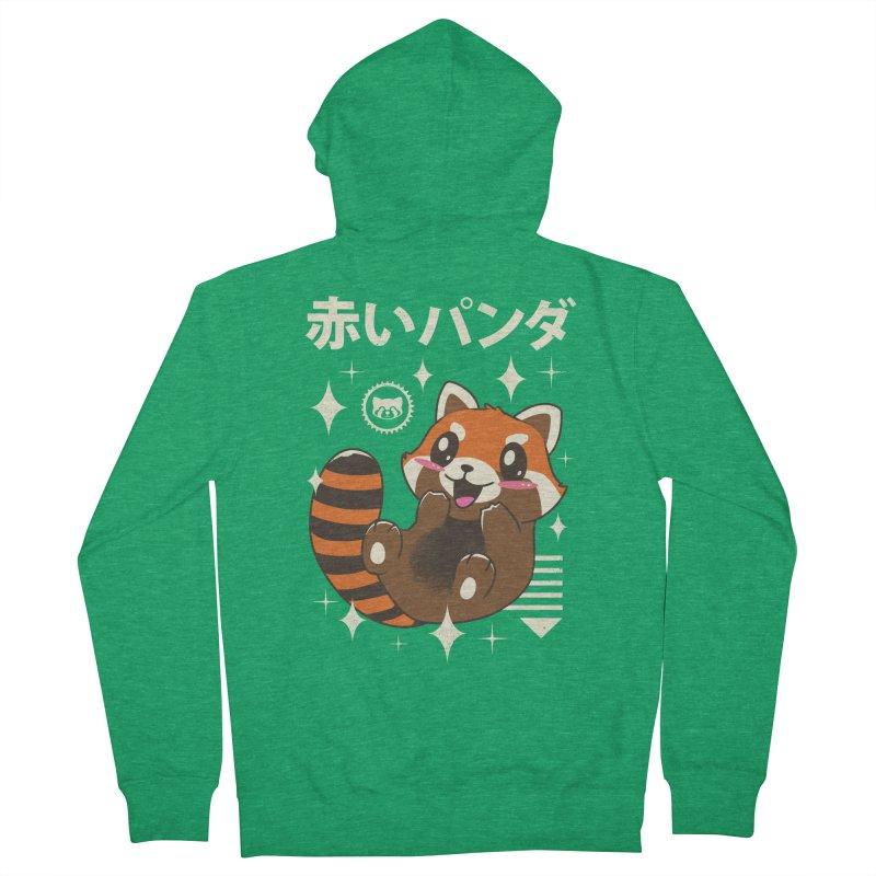 Kawaii Red Panda Men's Zip-Up Hoody by vincenttrinidad's Artist Shop