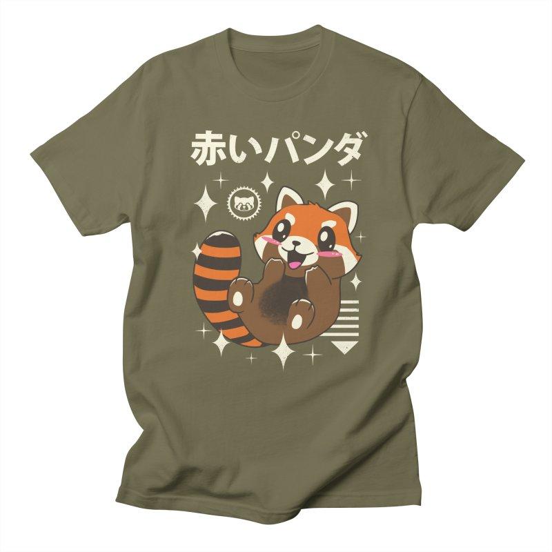 Kawaii Red Panda Women's Unisex T-Shirt by vincenttrinidad's Artist Shop