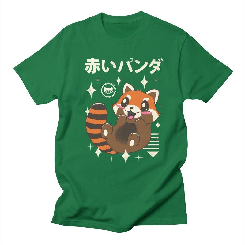 Kawaii Red Panda Men's T-Shirt by vincenttrinidad's Artist Shop