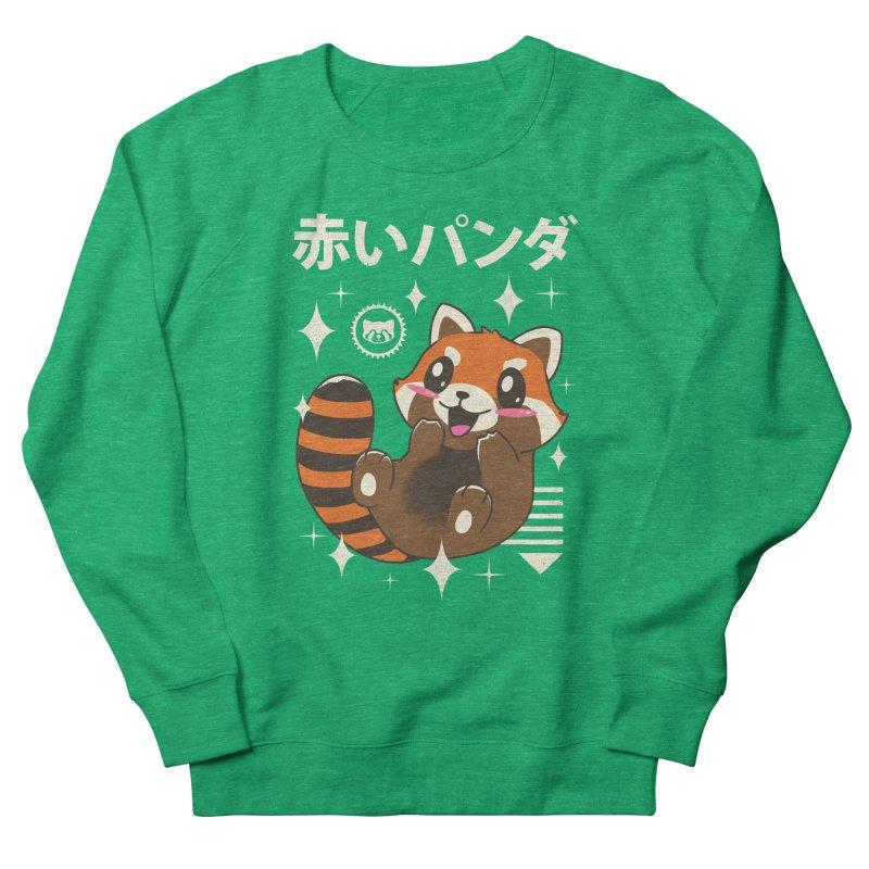 Kawaii Red Panda Men's Sweatshirt by vincenttrinidad's Artist Shop