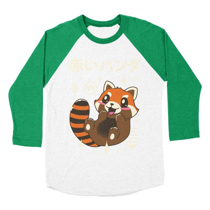 Kawaii Red Panda Women's Baseball Triblend T-Shirt by vincenttrinidad's Artist Shop