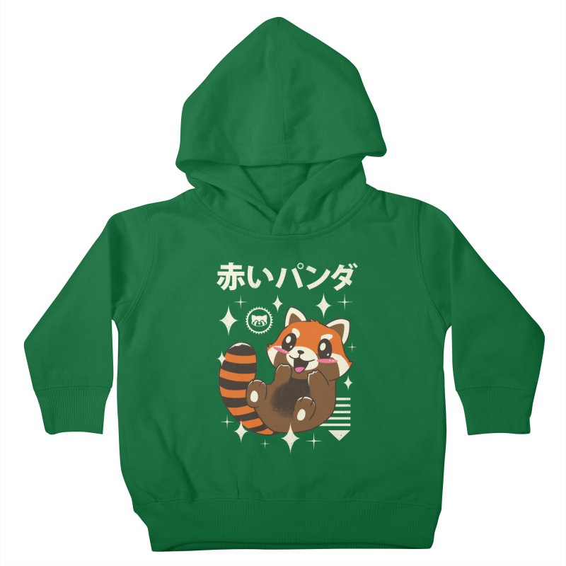 Kawaii Red Panda Kids Toddler Pullover Hoody by vincenttrinidad's Artist Shop