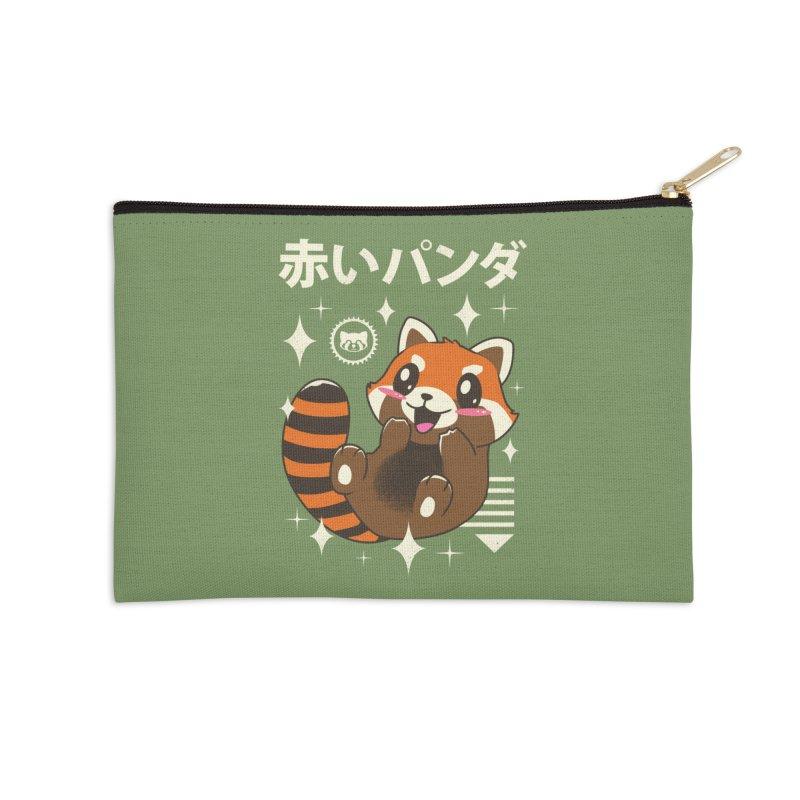 Kawaii Red Panda Accessories Zip Pouch by vincenttrinidad's Artist Shop