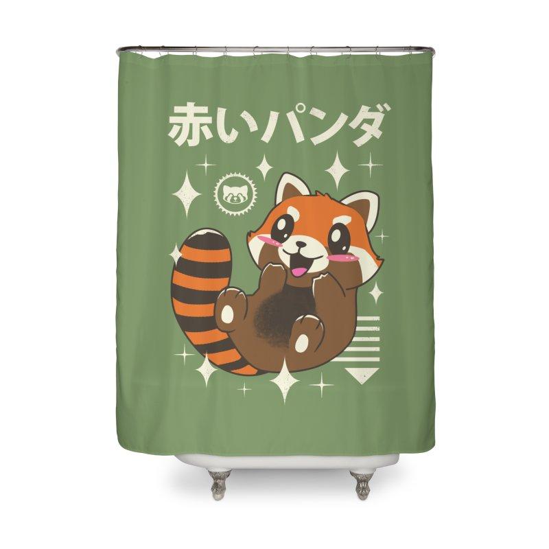 Kawaii Red Panda Home Shower Curtain by vincenttrinidad's Artist Shop