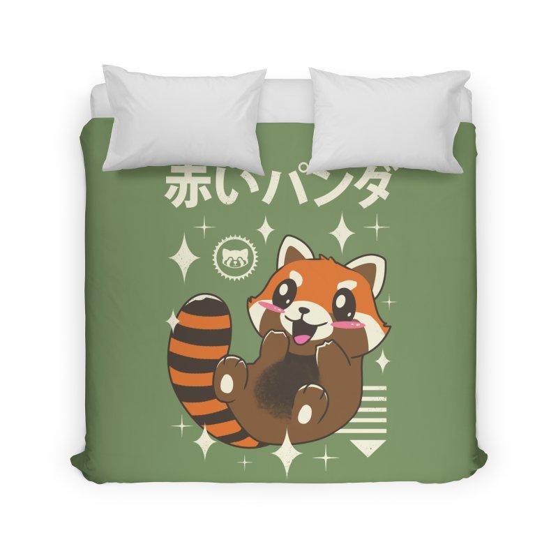 Kawaii Red Panda Home Duvet by vincenttrinidad's Artist Shop