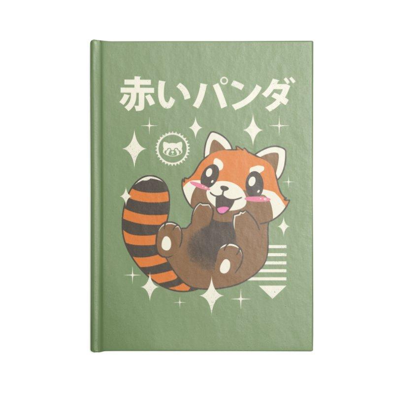 Kawaii Red Panda Accessories Notebook by vincenttrinidad's Artist Shop