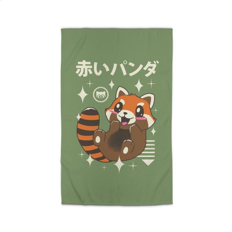 Kawaii Red Panda Home Rug by vincenttrinidad's Artist Shop
