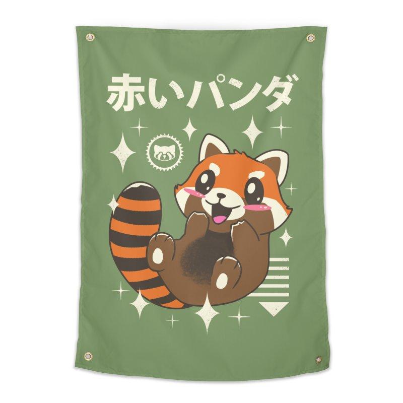 Kawaii Red Panda Home Tapestry by vincenttrinidad's Artist Shop