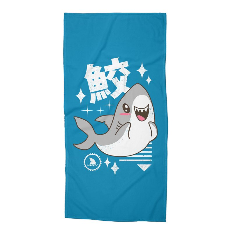 Kawaii Shark Accessories Beach Towel by vincenttrinidad's Artist Shop
