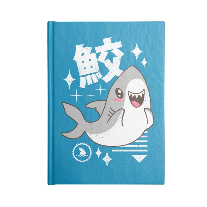 Kawaii Shark Accessories Notebook by vincenttrinidad's Artist Shop