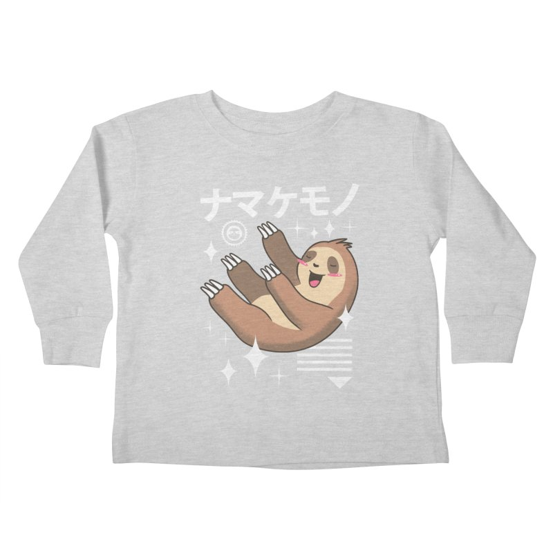 Kawaii Sloth Kids Toddler Longsleeve T-Shirt by vincenttrinidad's Artist Shop