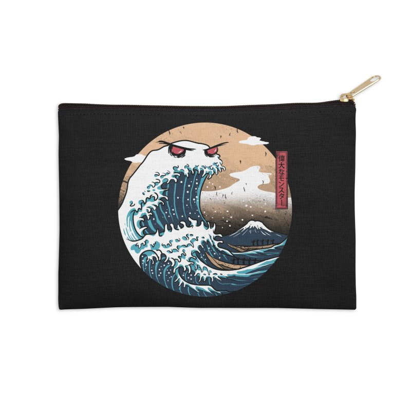 The Great Monster of Kanagwa Accessories Zip Pouch by vincenttrinidad's Artist Shop