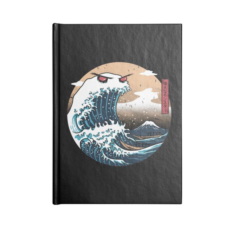 The Great Monster of Kanagwa Accessories Notebook by vincenttrinidad's Artist Shop