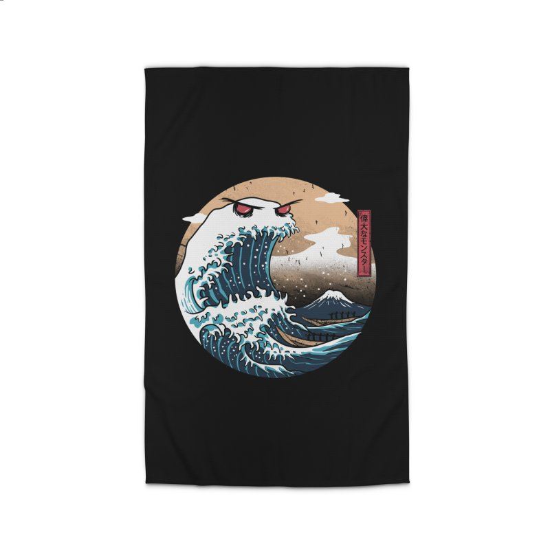 The Great Monster of Kanagwa Home Rug by vincenttrinidad's Artist Shop