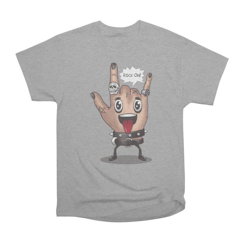 Rock On Women's Classic Unisex T-Shirt by vincenttrinidad's Artist Shop
