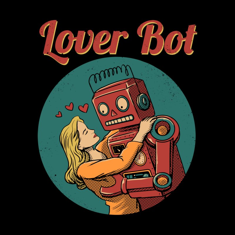 Lover Bot by Vincent Trinidad Art
