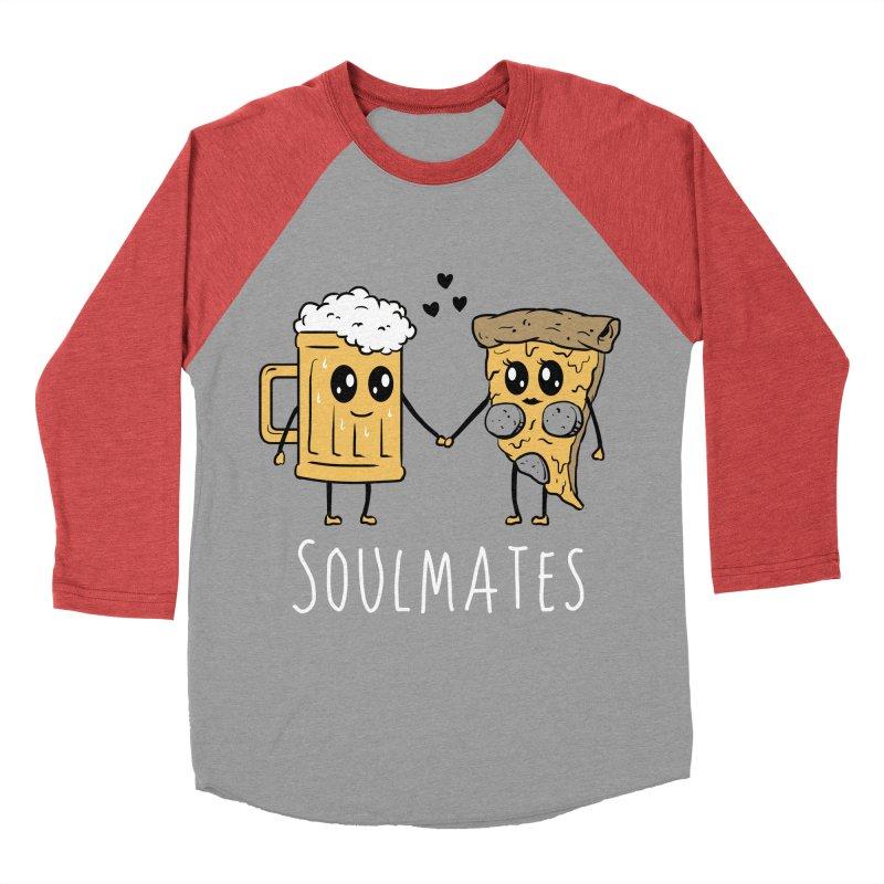 Soulmates Men's Baseball Triblend T-Shirt by vincenttrinidad's Artist Shop